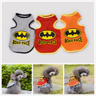 Hot Sell NEW Dog Clothes Pet Cat Polo Shirts Dog T shirt Vampire Bat Vest