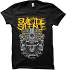 SUICIDE SILENCE - Skull Kingdom - T SHIRT S-M-L-XL Brand New Official