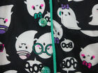 Girls Joe Boxer Pajamas Flannel Set  2T to Med 7/8 Ghost Monkey Hearts Owl Peace