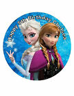 Edible FROZEN Birthday Cake Topper, Icing CakeTopper, Disney Frozen Theme Party