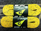 Graf Waxed Hockey Skate Laces Yellow Multiple Sizes 2-Pack