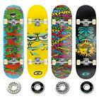 "NEW OSPREY SKATEBOARDS 31.25"" X 8"" MAPLE DECK FUNKY RETRO DESIGNER SKATEBOARD"