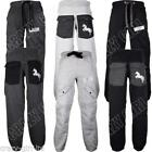 New Mens Jogging JOGGERS Bottoms Tracksuit Pants Fleece Trousers Size S M L XL