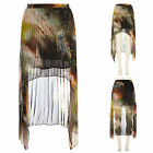 Orange Pleated Galaxy skirt from the Jolie Moi Collection at Dorothy Perkins