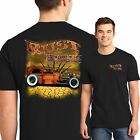 Hot Rod T Shirt Rust Rat Rod Junkyard Auto Parts Whitewalls S to 6XL