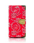 New Diamond Bling Magnetic Flip Leather Wallet Case Cover For All Smart Phones