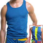 Men's Sports Gym T-shirt Casual Tank Tops Vest Athletic Apparel Sleeveless Shirt