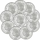 2016 Morgan Dollar 1oz .999 Silver Medallion by SilverTowne-LOT OF 10
