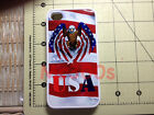 Rubber American Flag with Eagle and USA iphone 4 & 4S and 5 case Stars