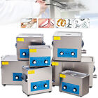 Industry Grade Ultrasonic Cleaner  Timer Heater +Basket Cleaning Tank 3L/6L/9L