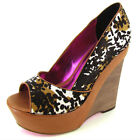 Betsey Johnson Women Lucyyy Wedge Pump Shoes