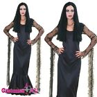 The Addams Family Morticia Fancy Dress Halloween Adult Licensed Costume