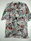 NWT CASINO GAMBLING HAWAIIAN SHIRT BY HUNTERS size M or XL BLUE