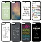 "One Direction Quotes For Apple 4.7"" iPhone 6 Case Hard Plastic Back Cover"