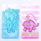2× For Various Cellphones Blue&Pink Elephant Case TPU Rubber Gel Soft Back Cover