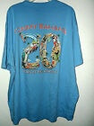NEW T SHIRT by TOMMY BAHAMA  20 YEARS OF RELAXATION  SIZE XXL blue color