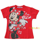 Disney Minnie summer short sleeve Tee / T-shirt Top size 2,3,4,5,6