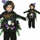 Toddler Spider Costume - Childrens Kids Baby Halloween Fancy Dress Outfit