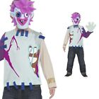 Boys Moshi Monster Zommer Costume Kids Childrens Halloween Fancy Dress Outfit