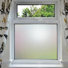 Privacy White Frosted Window Film Frost Etched Glass Sticky Back Plastic Vinyl