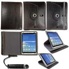 Universal Multi Angle Wallet Case Cover Folio for 8-9 inch Tablet & Stylus Pen