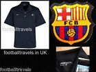 NIKE BARCELONA DRI-FIT GOLF POLO SHIRT Polyester football soccer calcio jersey