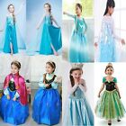 SALE~Disney FROZEN Princess Anna Elsa Cosplay Costume Party Formal Dress 1.5-11Y