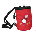 New Rock Climbers Chalk Bag With Adjustable Belt For Closure