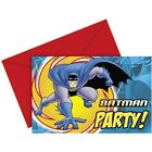 Batman Superhero Party, Batman Party Invitations for 6 to 42 guests!!