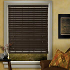 Abachi Real Wood Blinds - 4 colors - Free Shipping