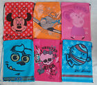 Character Gym PE Bag Disney Official Drawstring Handle Monsters Peppa Planes