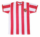 Retro Stoke City 1977-92 Football T Shirt New Sizes S-XXL Embroidered Logo