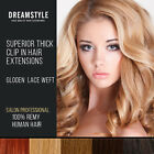Top Quality Extra Thick Clip In Hair Extensions Human Hair Double Quade Wefted