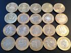 Bimetallic Commemorative Two Pound Coins – Rare British £2 Coin 1986 - 2014