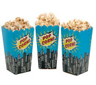 Superhero Spiderman Party Popcorn Holders, Tubs, for 8,16, 24, 32 or 40 guests!!