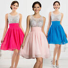 SALES~Bling Sequins Evening Theme Party Prom Bridesmaid Dresses Gown Homecoming