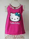HELLO KITTY Sanrio Pink Racer Back Tank Top Sizes S M L  NEW 10 12 14