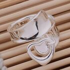 925 STERLING SILVER PLATED ADJUSTABLE FINGER RING FOR WOMEN  NOT TOE RING