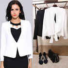 Fashion Women's Debutante Style Evening Cocktail Party Suit Coat Jacket Blazer