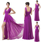 IN STOCK Charming Sexy Women Formal Long Pageant Gown Evening Prom Wedding Dress