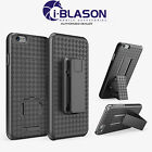 Genuine i-Blason For iPhone 6/6s 4.7 Case Slim Hard+Locking Belt Swivel Clip