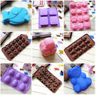 9 Styles Silicone Ice Soap Cake Mould Animal Cute Pattern Baking tools Mold