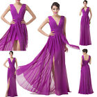 CHEAP Bridesmaid Long Prom Party Evening Gown Cocktail Dress AU 6 8 10 12 14 16+