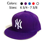 Yankees NY New York Baseball Hats Ball Cap Major League Hip Hop Fitted Sizes