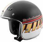 Speed and Strength SS600 Rooke Customs 3/4 Motorcycle Helmet Matte Black Bronze