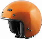 Speed and Strength SS600 Speed Metal Orange Flake 3/4 Motorcycle Helmet