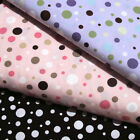 "ROBERT KAUFMAN ""PIMATEX BASICS"" BKT-8996 BUBBLE DOT by the 1/2 yard"