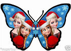 24 x Disney FROZEN CHRISTMAS Elsa Anna Edible Decorations Cup Cake Toppers