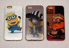 Despicable me minion phone case/protector for iPhone 5G/S with screen protector