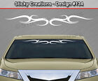 Design #134 Tribal Curls Windshield Decal Back Window Sticker Vinyl Graphic Car